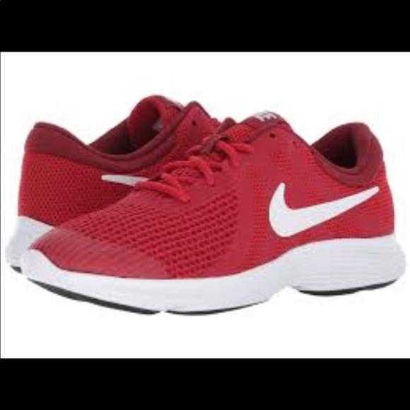 e8c820fdfe9b Nike Revolution 4 Red Sneakers 👟♥ 😍. M 5b8486231537951ef2218af2